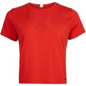 O'Neill Travel Laser SS Shirt Women cherry tomato